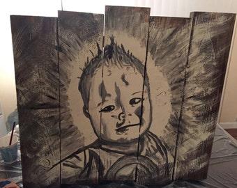 Custom Wood Painting