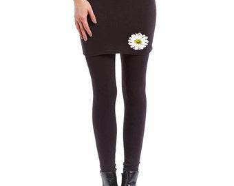 Flower Skirted Leggings