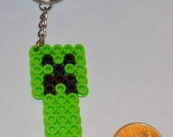 Minecraft Creeper Keychain
