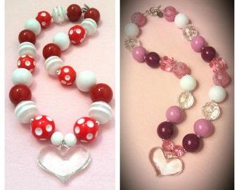 Valentine's Heart Necklaces