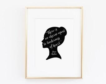 Tenderness of heart - Jane Austen - Instant Download