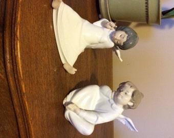 2 Sweet Lladro Angels - Retired