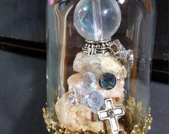 Small glass dome ornament