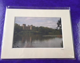 Mounted Eastnor Castle Photo