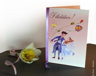 Greeting wedding card, wedding gift, wedding floral, guest book, wedding design