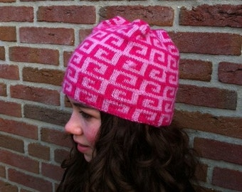 In two colors for girls pink ski Cap