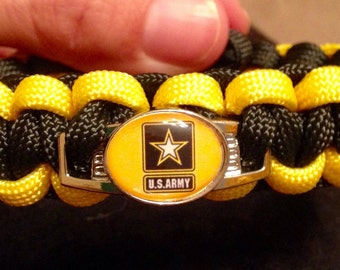 US Army Paracord Bracelet