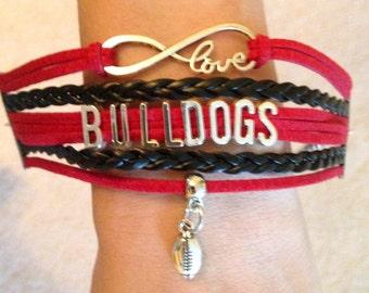 Georgia Bulldogs Bracelet