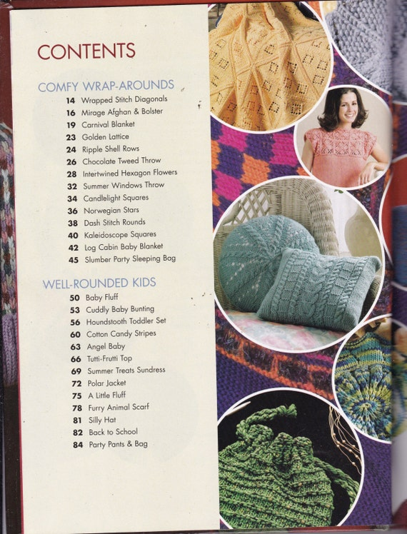 Knitting in the Round Pattern Book by Jeanne Stauffer ...