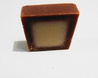 Premium Handmade Sweet Amber & Musk Vegan Soap , Olive Oil, Shea