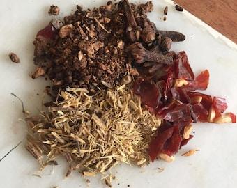 Root chakra herbal tea blend