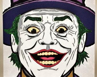 Hand Painted Joker (Jack Nicholson)