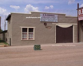 O.K. Corral, Tombstone Arizona July 1, 2006