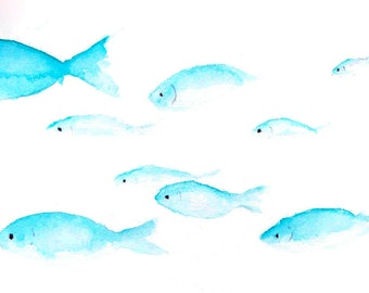 Small Fish Shoal