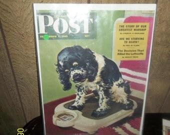 post 1945 magazine cover