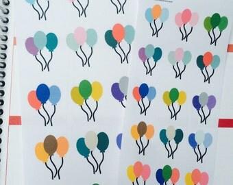 30 Baloon Sticker