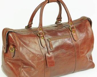 Enzo Olletti De Luxe Leather Cabin Bag