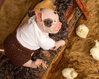 Prepainted Piglet Petal