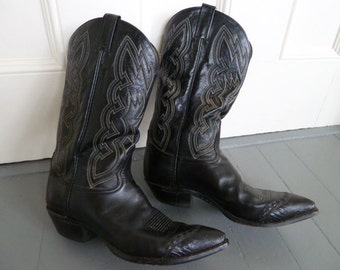 Mens Western Tony Lama cowboy boots