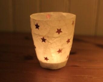 COLORED STARS night lantern
