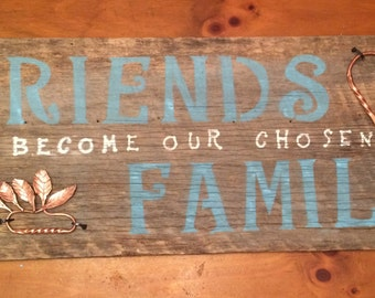 Friends and Family Custom Sign