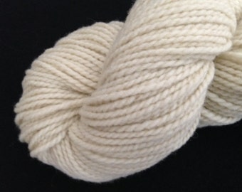 Natural Color  Corriedale/Rambouillet Wool Yarn  200yds 2-Ply Worsted Wt