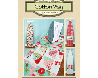 Patchwork Ironing Board Covers, #921, Cotton Way pattern by Bonnie Olaveson