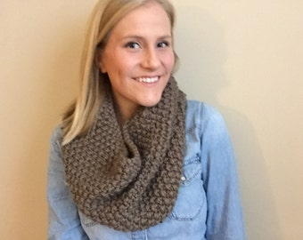 St Croix Cowl in Taupe