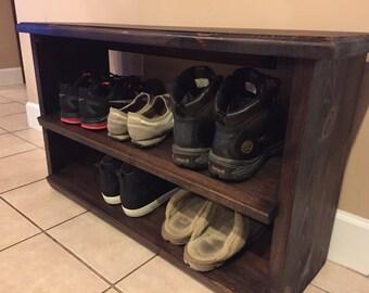 Bench, Stool, Shoe Bench, Shoe Rack
