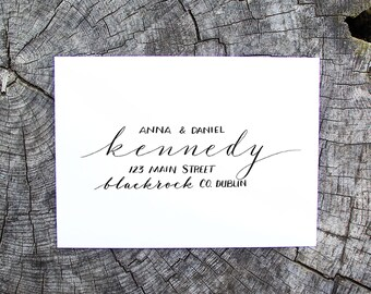 Modern Calligraphy for Weddings & Events