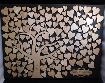 Love Birds Tree Wedding Guestbook