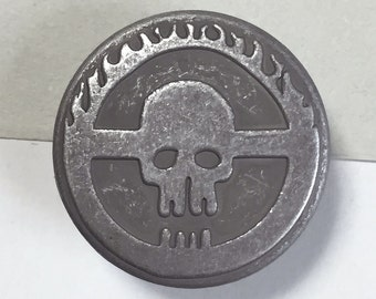 "21mm Tack Button ""Citadel of Skull""  [Set of 1]"