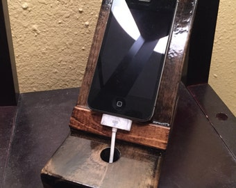 Wooden Cell Phone / iPod stand