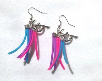 Fancy Color & fairy earrings