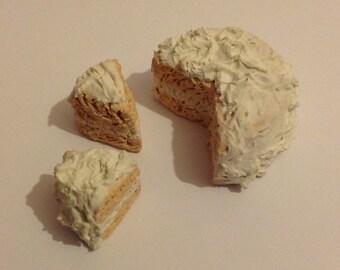 Polymer Clay Handmade Cake