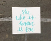 """original watercolor quote 