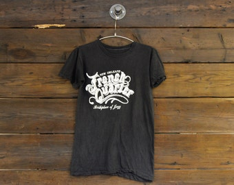 New Orleans French Quarter Birthplace of Jazz Tee // Medium