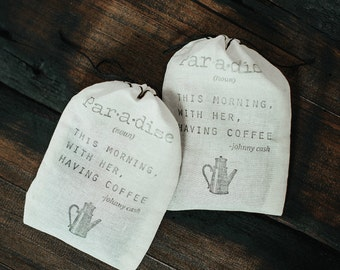 Coffee Wedding Favors (set of 25)