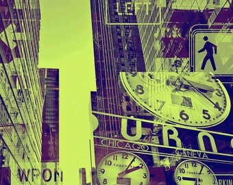 NEWYORK URBAN VII by Sven Pfrommer - 130x100cm Artwork is ready to hang