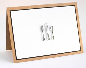 3D Dinner Card