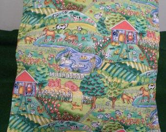 Farm cushion cover