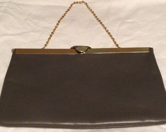 Etra Vintage Grey Clutch