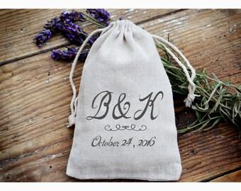 Personalized ring bearer bag, Wedding ring bag ,personalized ring holder, ring bearer pillow alternative, ring bag ,muslin bag TB6