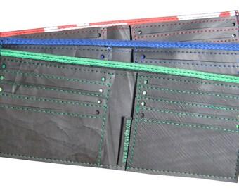 Inner Tube 8 card wallet, Vegan Wallet, Upcycled Wallet, Fair Trade Wallet,