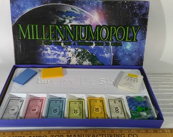 Collectible Millennium Edition Monopoly Board Game