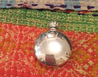 Silver Perfume Scent Tiny Flask/Bottle