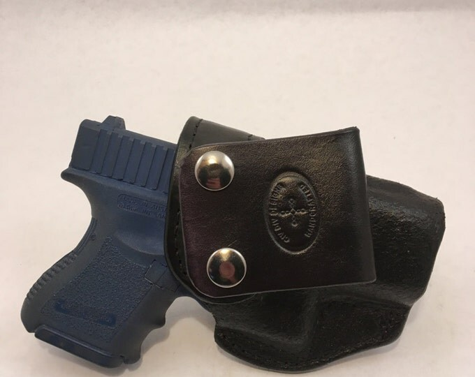 G26 / G27 IWB - Handcrafted Leather Pistol Holster
