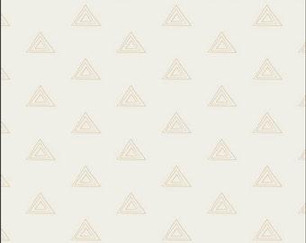 Pearl and Gold Metallic_ Prisma Elements _ Art Gallery Fabric _ 1 YARD