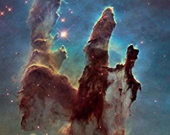 Pillars of Creation Space Astrology - Amazing Nasa Hubble Telescope Shot - Rare Hot New 24x36 …
