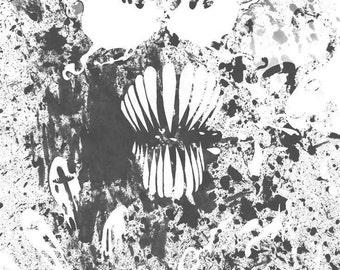 Venom Black Print 11x17